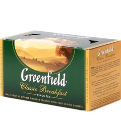 Чай Greenfield Classic Breakfast 25 пакетиков