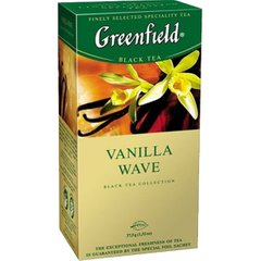 Чай Greenfield Vanilla Wave 25 пакетиков