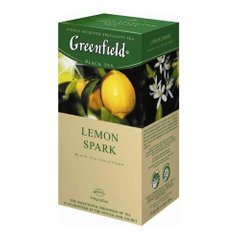 Чай Greenfield Lemon Spark 25 пакетиков