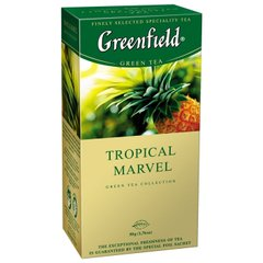 Чай Greenfield Tropical Marvel 25 пакетиков